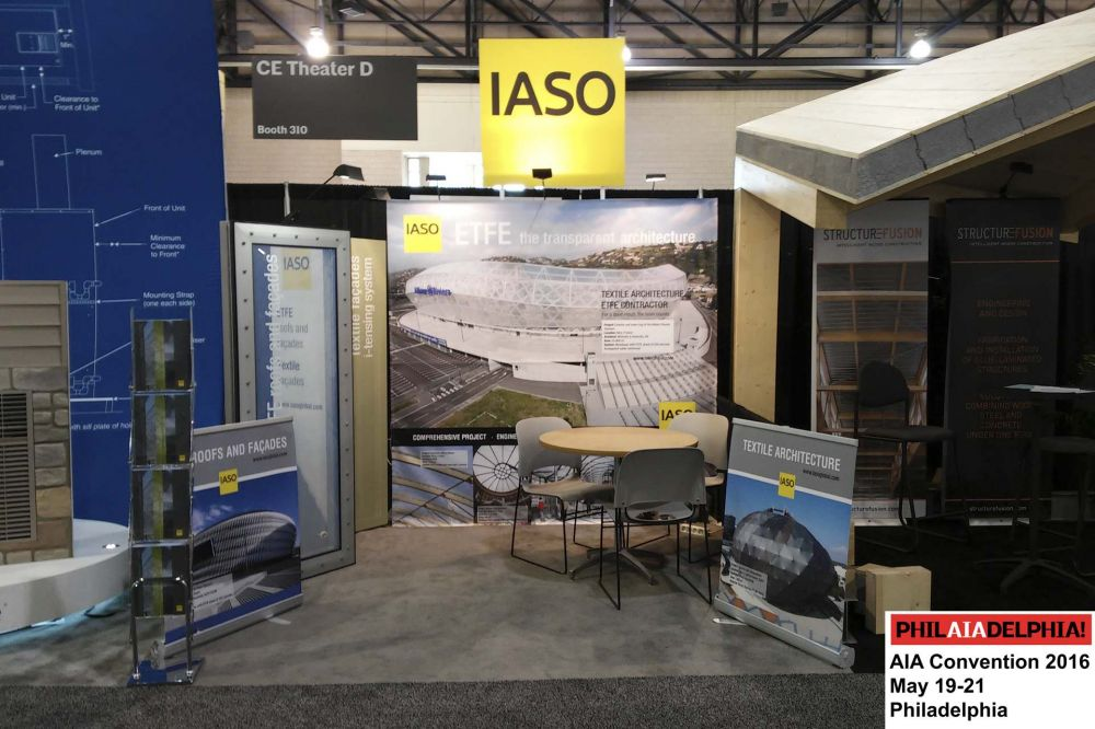IASO stand