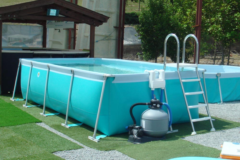 Piscina desmontable nerea piscinas iaso for Piscinas hinchables para jardin