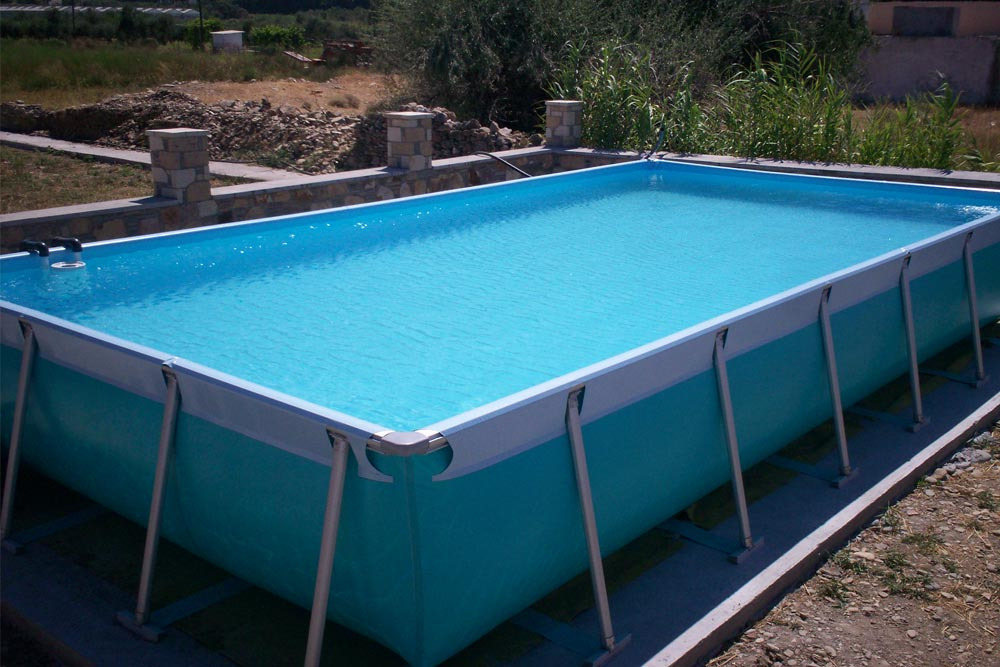 Piscine d montable max piscines iaso for Piscine demontable