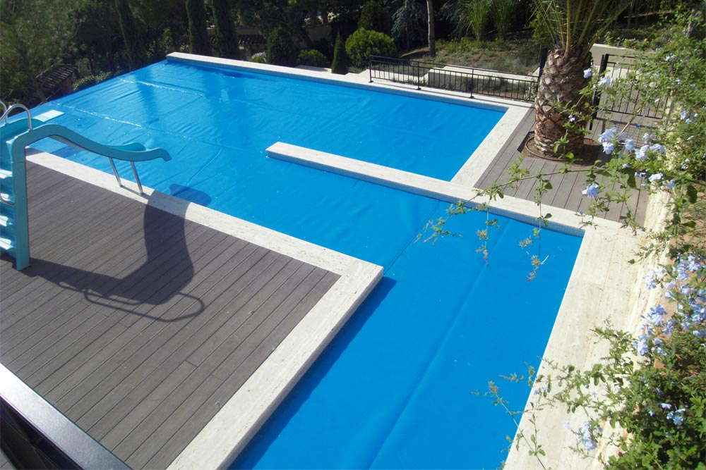 Cobertor superflex piscinas iaso for Material piscina