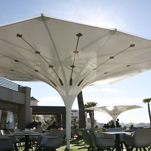 Estoril parasol open, with natural light
