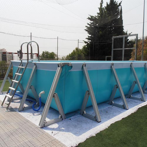 Piscina desmontable plus con escalera