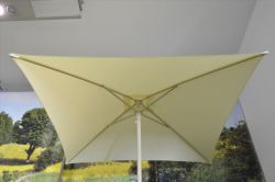 Sunflower Square Parasol, cream colored