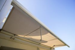 Eurosol Supercofre awning in the hotel Ses Estaques