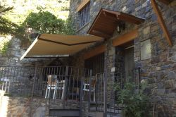 Awning Eurosol 1000 in a private house in Andorra