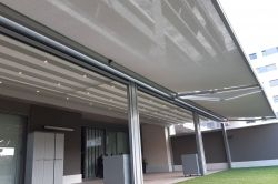 Cofre Plus awning in a private home.