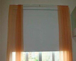 Curtain z711 in window