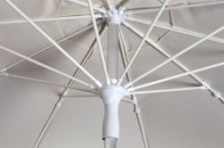 Azahar parasol with rod system