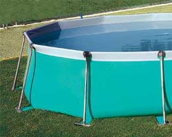 Anchoring a Detachable Flipper Pool