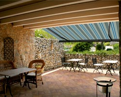 Awning ma6000 on terrace