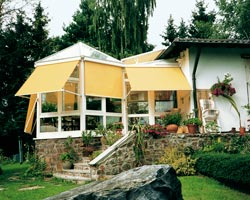 Awning ma730 yellow in glass