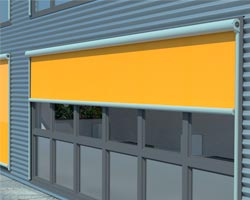 Awning ma869 yellow in vertical