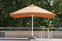 Parasol cibeles on bar terrace