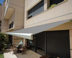 Awning Eurosol atlas long in pool