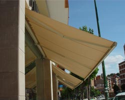 Canopy eurosol supercofre of 4 modules of beige