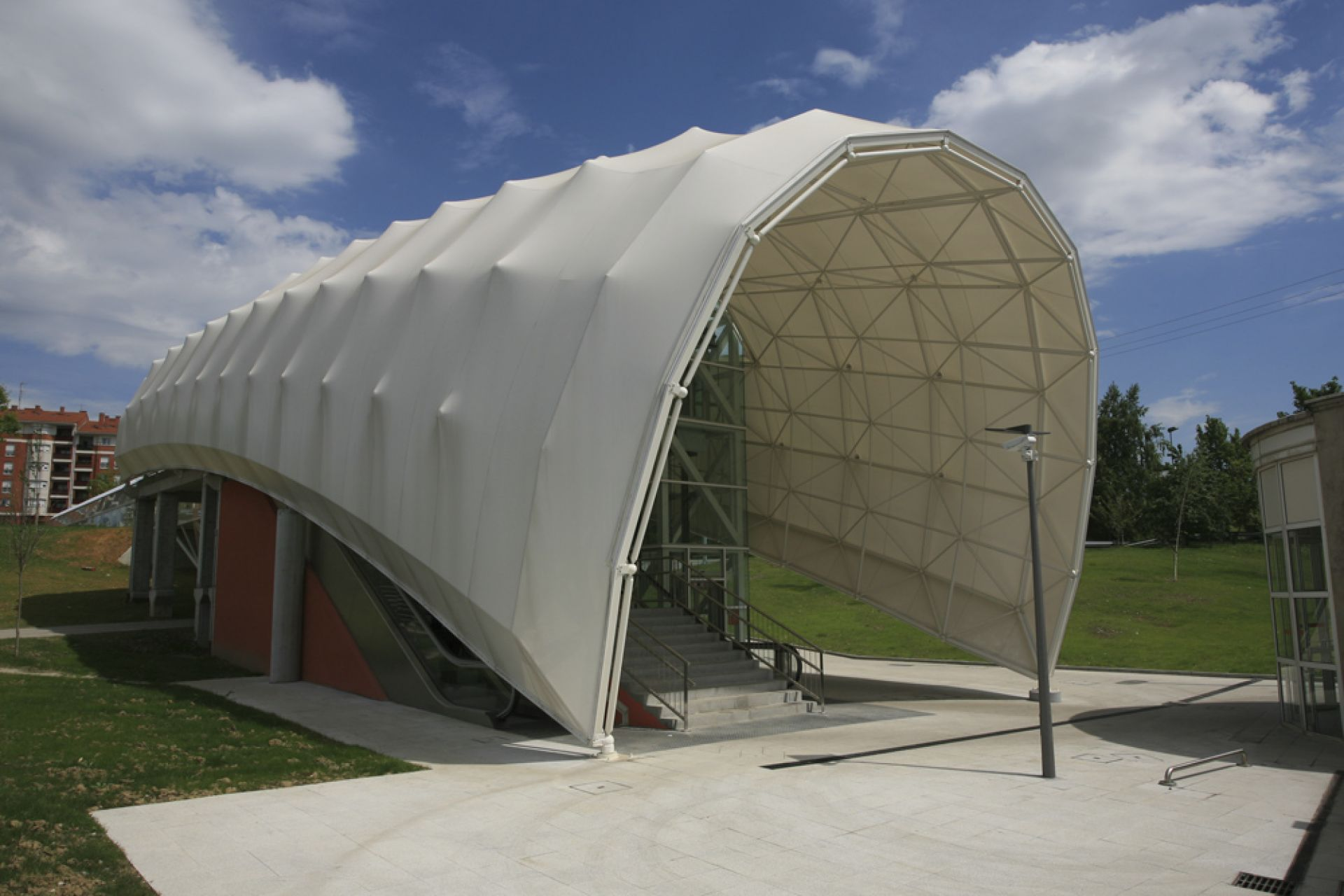 exterior of the pvc cover