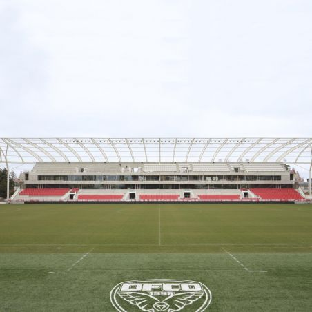 The new tribune of the stadium of Dijon