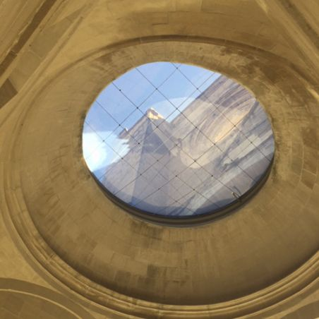 Reformed dome of the Church of San Pedro