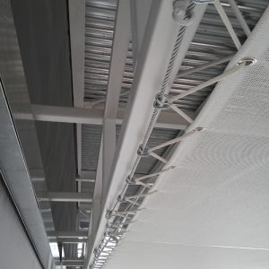 End of the false ceiling