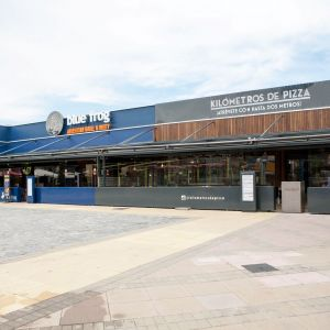 Argus Pergolas of the two restaurants of the Shopping Center