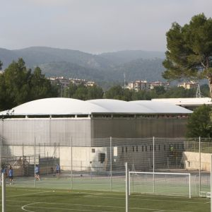 General view of the sports center