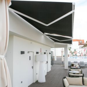 Eurosol 3000 awning in black