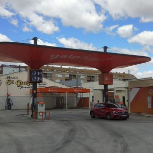 Vista general de la gasolinera Galp
