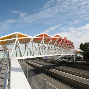 New cover for the Las Rozas Footbridge