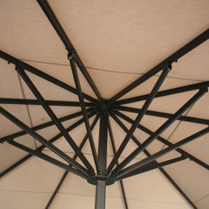 Interior detail of the Azores parasol
