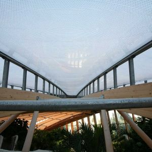 Transparency of ETFE cushions