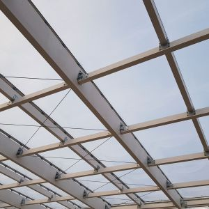 ETFE covered from the inside.