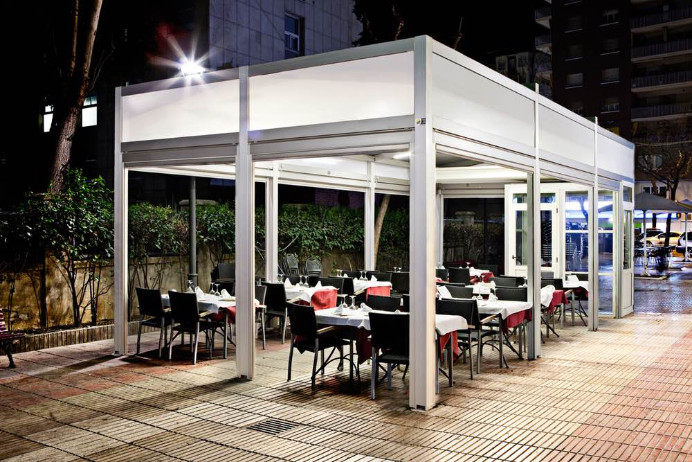 Solutions For Terraces And Bars Comfort And Sun Protection